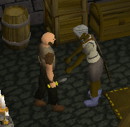 Pickpocketing a rogue