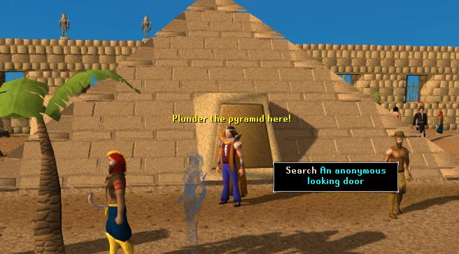The Pyramid Plunder pyramid