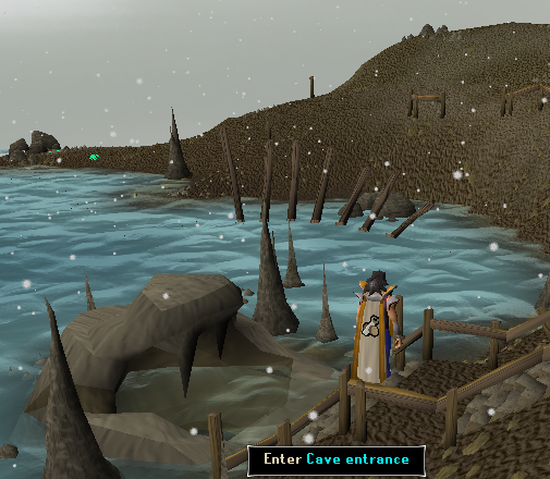 Entrance to the Dagannoth/Waterbirth Dungeon