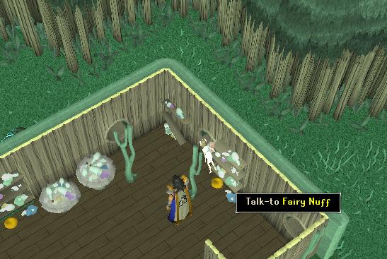 Fairy nuff's room