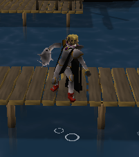 Fishing on the Rellekka pier