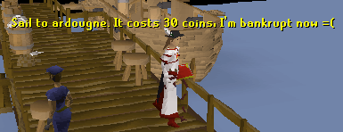 Said to ardougne