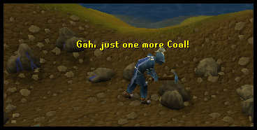 Mine coal