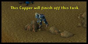 Mine copper