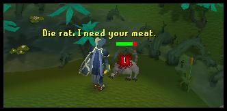 Kill a giant rat