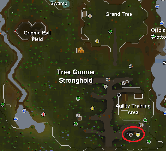 Big Chinchompa - Map of Mieliki's store location.