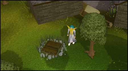 The first entrance to the Draynor Sewers