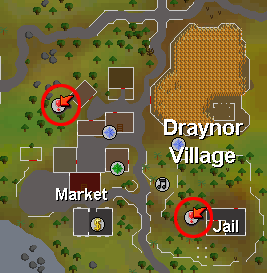 Entrance to the Draynor Dungeon