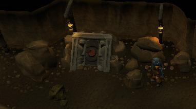 Dwarven Mines Resource Dungeon - Dwarven Mines Resource Dungeon entrance portal