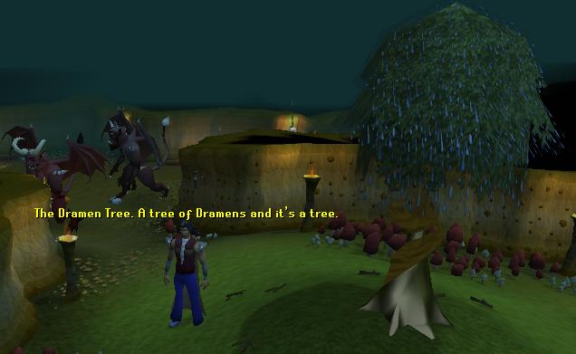 The dramen tree