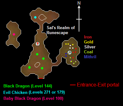 Map of the Evil Chicken's Lair