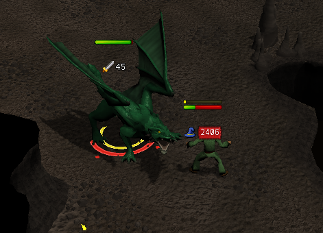 Getting burned by a Dragon