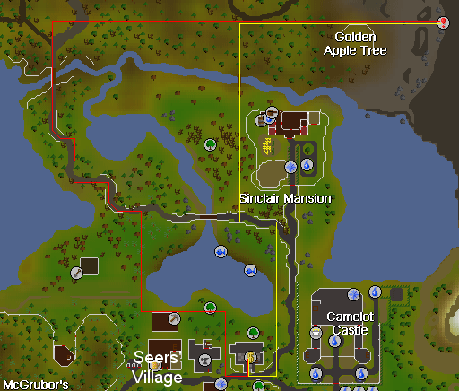 Entrance to the slayer dungeon