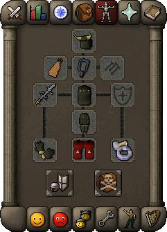 Melee equipment (guthan's)