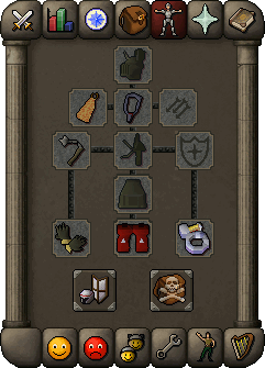Melee equipment (Verac's)