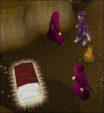 A cosy bed