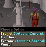 Statue of Zamorak
