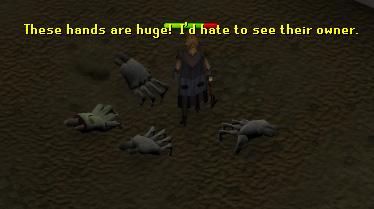 Zombie and Skeletal Hands