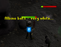 Fighting Albino Bats