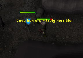 Fighting Cave Horrors