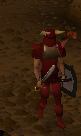 Zamorak warrior