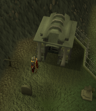 The entrance from Varrock
