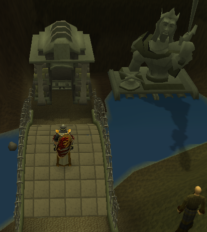 The entrance from Canifis