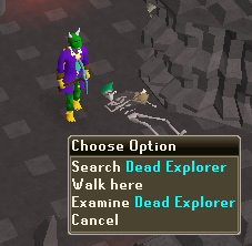 Search Dead Explorer