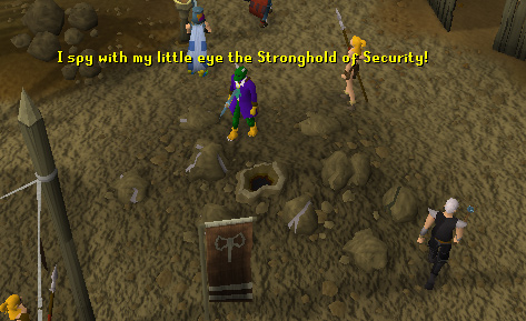 Entrance to the Stronghold of Security