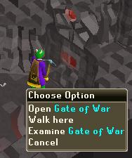 Open Gate of War