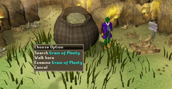 Search Grain of Plenty