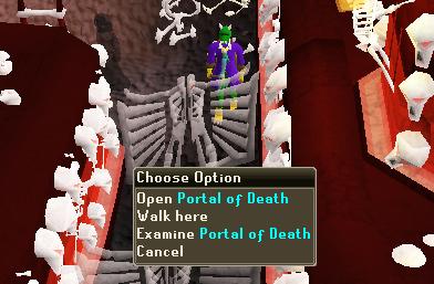 Open Portal of Death