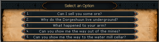 Select an option