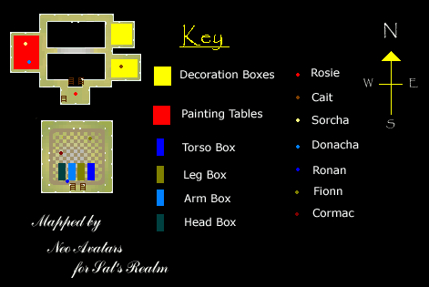 Workshop dungeon map