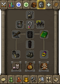 Suggested ranged equipment