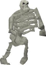 Zogre (Jiggig) Caves - Skogre - Skeleton Ogre!