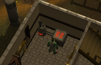 A range in the champions' guild