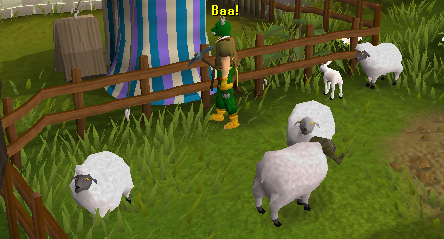 The Makeover Mage's sheep