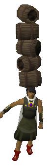 Balancing barrel's