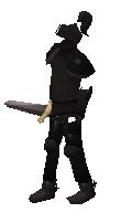 Black Animated Armour