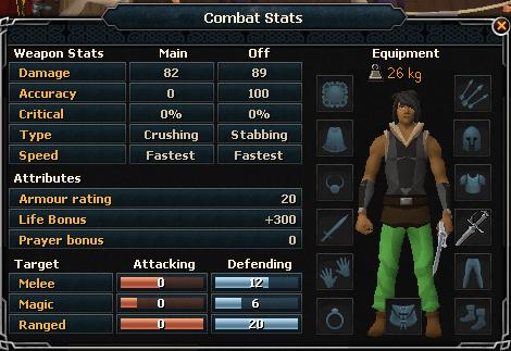 Steel Defender Combat Stats