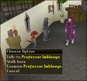 Professor Imblewyn