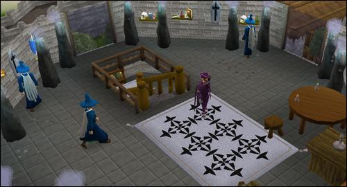 The top floor of the Wizards' Guild