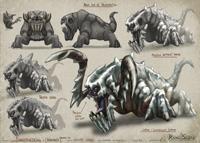 Behemoth Icefiend Concept Art