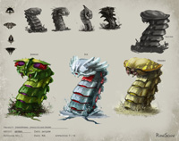 Strykewyrms Concept Art