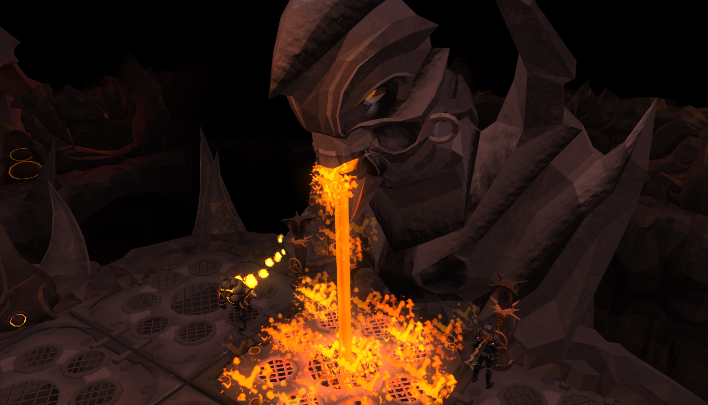 One of four RuneScape teaser screenshots for next weeks update. That lava looks awfully hot!