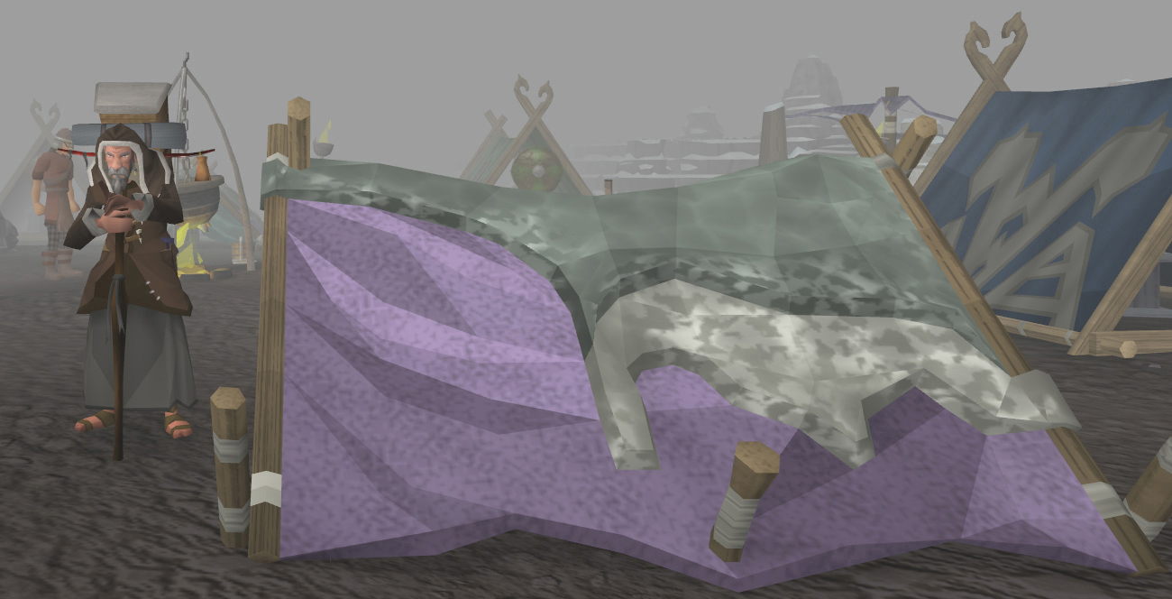 A teaser screenshot for the next update in RuneScape.