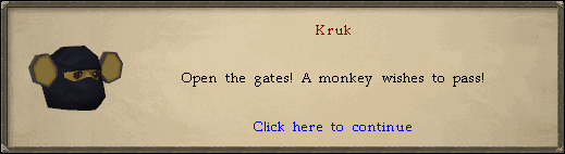 Kruk: Open the gates!
