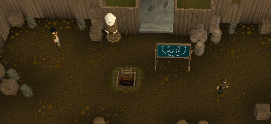 The lobby for the Barbarian Assault Minigame/Activity