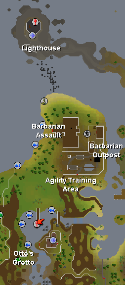 Map of Barbarian Outpost